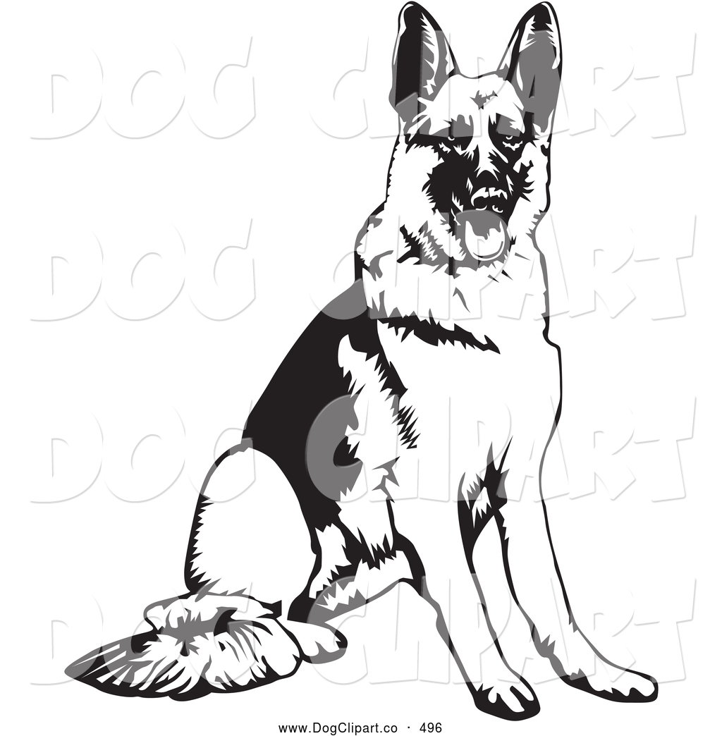 Royalty Free Stock Dog Designs of Shepherds