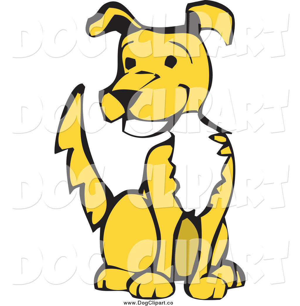 Yellow Dog Clipart Dogs
