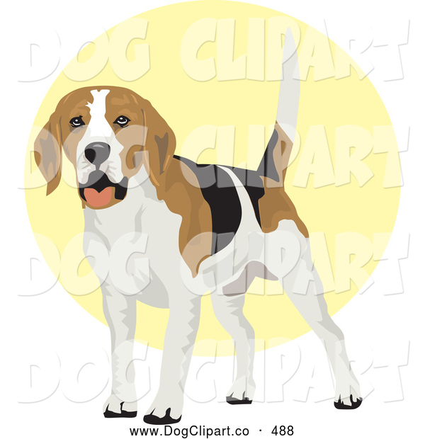 clipart dog wagging tail - photo #39
